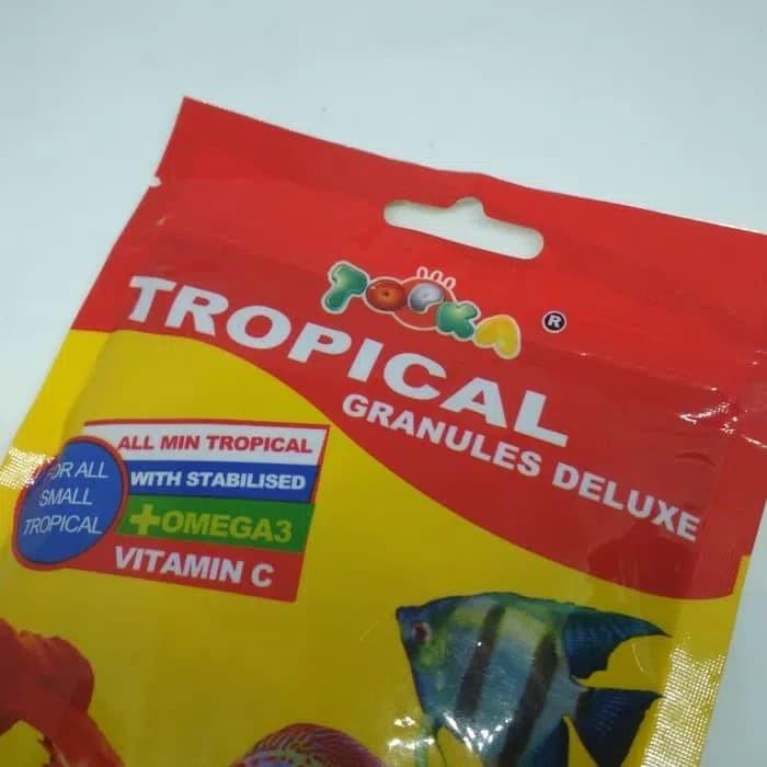harga Makanan ikan discus manfish guppy tetra topka tropical Tokopedia.com