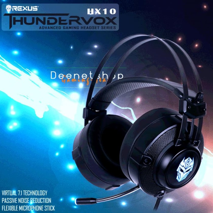 Rexus Headset Gaming Thundervox HX10
