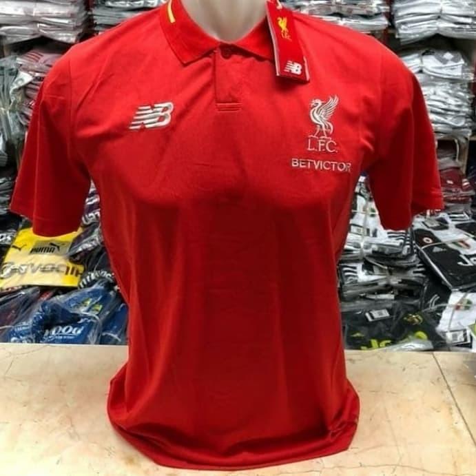 161620de1 Jual POLO SHIRT LIVERPOOL RED 18 19 GRADE ORI - jerseysports