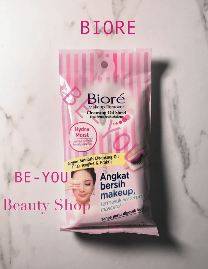 ... terlaris biore makeup remover cleansing oil sheet