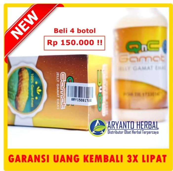 QnC Jelly Gamat Original - Obat Diabetes - Obat Darah Tinggi
