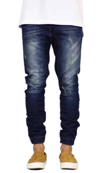 b00794baa3cb31 Jual Hyper Denim Indigo Drop Crotch Jogger Denim (ORIGINAL) - Kota ...