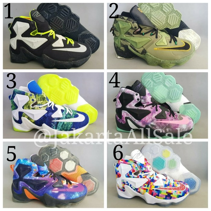 outlet store 5cf8f c1185 Basket Ball Sepatu Basket Nike Lebron James 13 XIII Premium