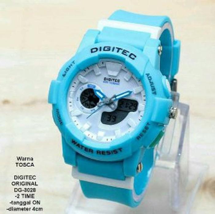 Jam Tangan Sport Digital Wanita Full Colour Hijau Tosca - Info Harga ... 3a8d0ac19a