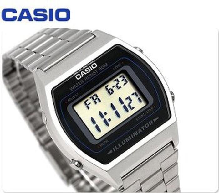 Cek Harga Casio Digital Jam Tangan Pria Hitam Strap Karet W Source · Jam Tangan Wanita Casio Original B640WD 1AV Diskon
