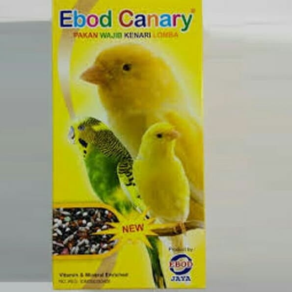 Pakan Burung Lovebird Miltih Milet Putih Kemasan Toples Ebod Jaya Rp 28 000 . Source · Pakan burung ebod kenari
