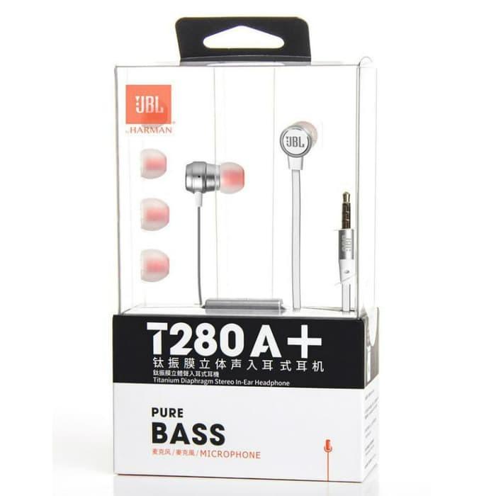 JBL T280A Stereo In-Ear Headphone - Original
