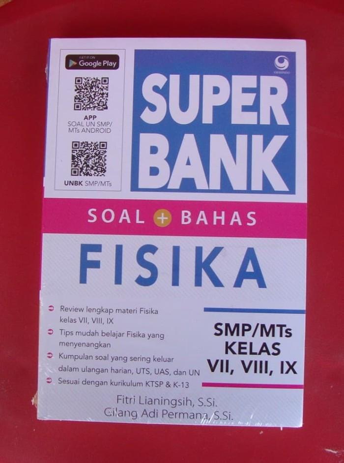 Super bank - soal plus bahas fisika - smp mts kelas 7 8 9