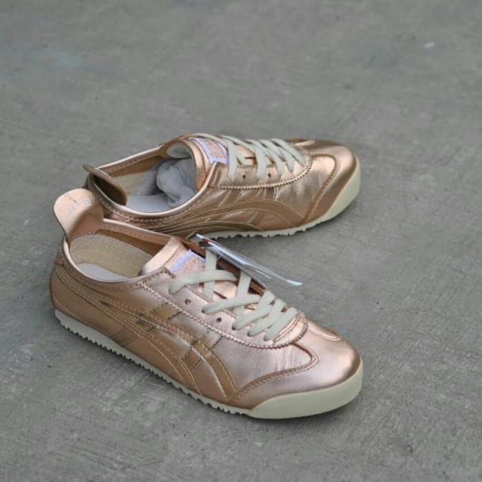 new arrival 61b73 2f3bf Jual Asics Onitsuka Tiger Mexico 66 Rose Gold Sneakers Original BNIB - DKI  Jakarta - villapedia | Tokopedia