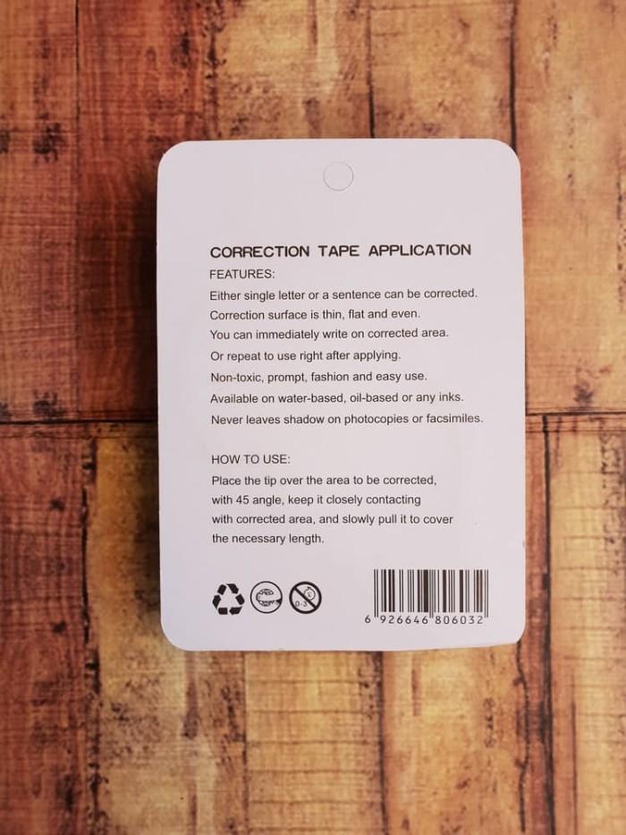 Correction Tape Secret - Tip-Ex Pita Rahasia Microtop MT-603 20M x 5mm