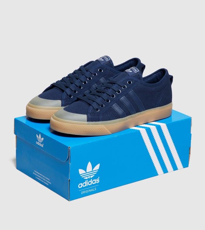 size 40 2c011 89c8c Sepatu sneakers adidas Originals Nizza Lo blue B37865