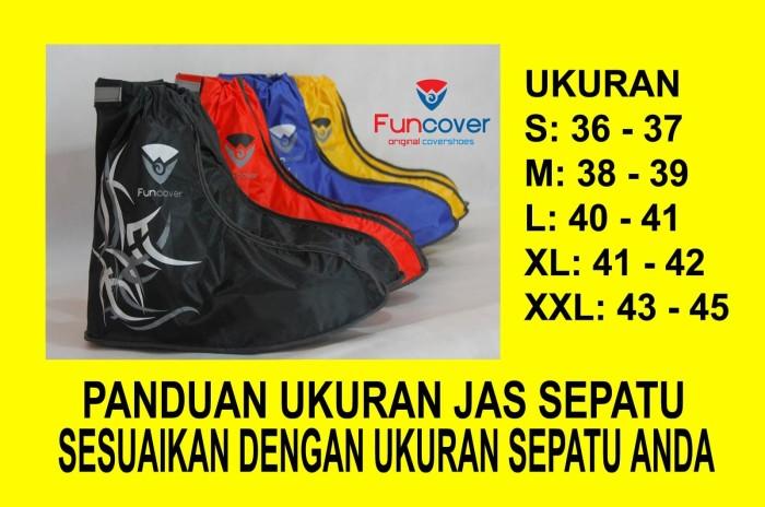 Funcover Cover Shoes Jas Sepatu Grand Funcover Hitam Diskon Harga Source · Jas Hujan Sepatu Sarung Sepatu Cover Shoes Anti Air Funcover Hitam