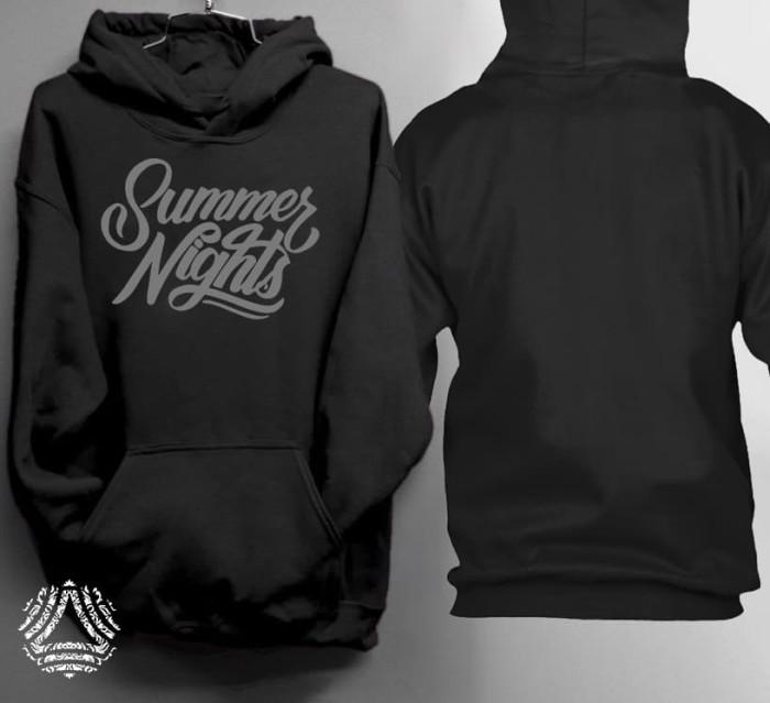 Promo sweater hoodie jumper outerwear pria wanita high quality 357j