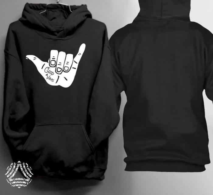 Promo sweater hoodie jumper outerwear pria wanita high quality 188j