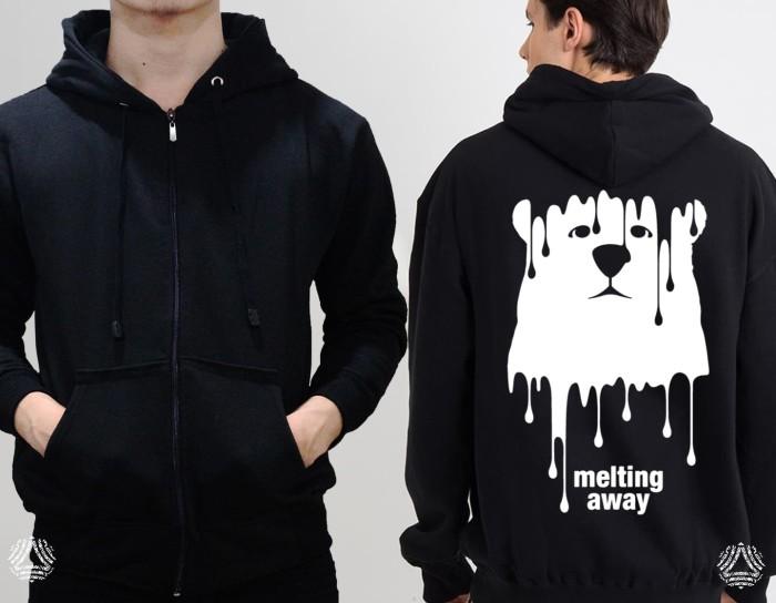 Promo sweater hoodie zipper outerwear pria wanita high quality 883z
