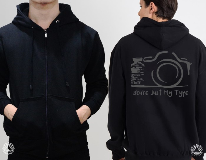 Promo sweater hoodie zipper outerwear pria wanita high quality 386z