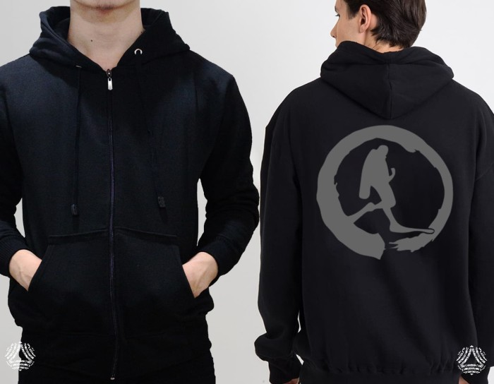 Promo sweater hoodie zipper outerwear pria wanita high quality 570z