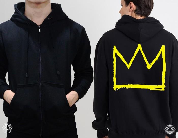 Promo sweater hoodie zipper outerwear pria wanita high quality 767z