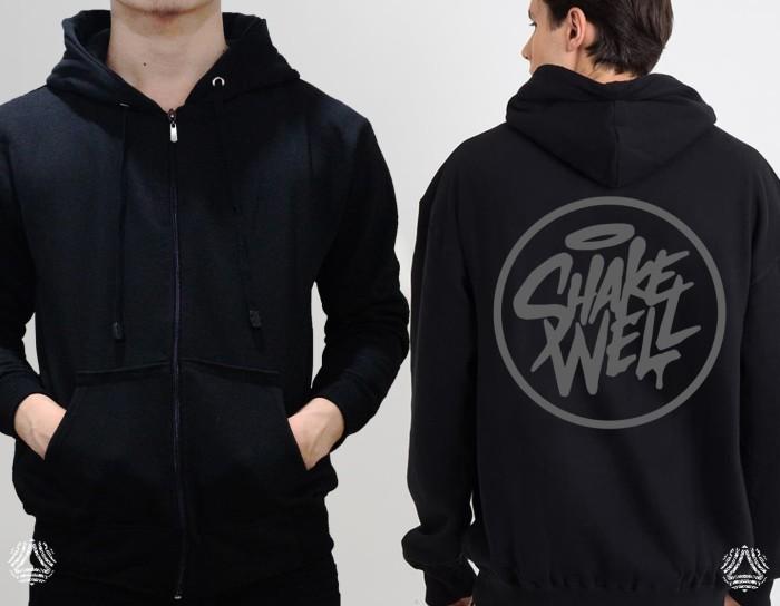 Promo sweater hoodie zipper outerwear pria wanita high quality 674z