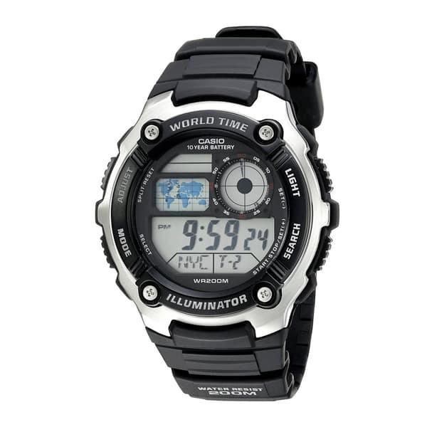 harga Jam tangan pria casio digital ae-2100w-1av Tokopedia.com