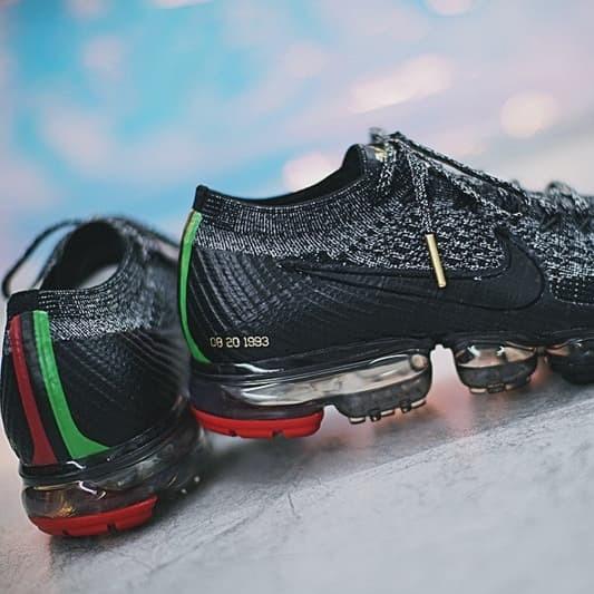 detailed look e0eda c5b02 Jual Sepatu Nike Vapormax flyknit BHM - Jakarta Selatan - Tony Sneakers    Tokopedia