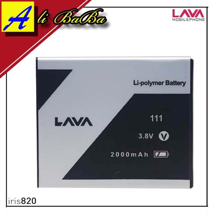harga Baterai handphone lava iris 820 80 60 leb111 batre hp lava iris 820 Tokopedia.com