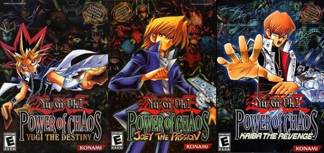 Yu-Gi-Oh! Power of Chaos Trilogy