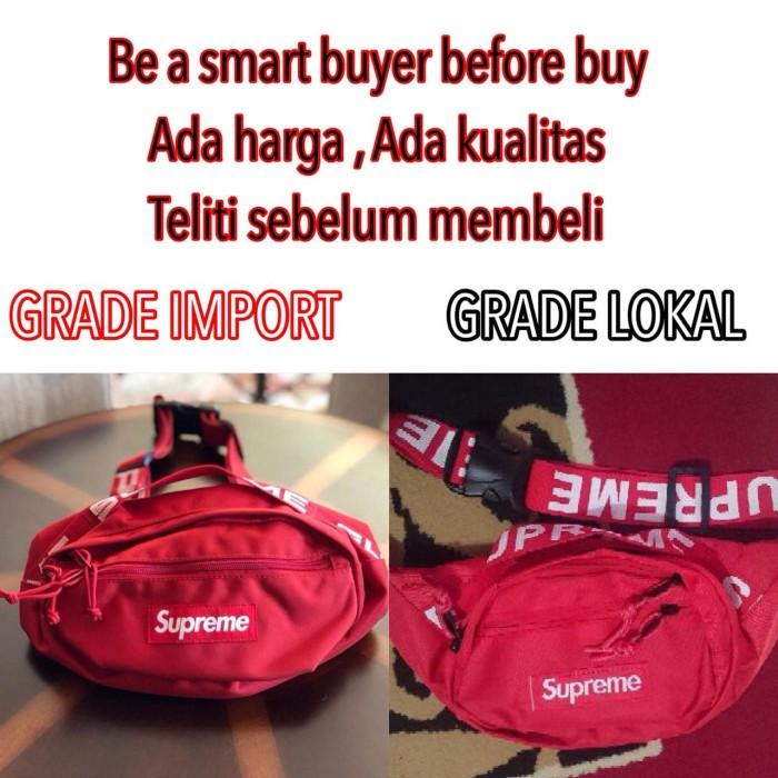 harga Supreme waist bag supreme waistbag tas supreme bag slingbag supreme Tokopedia.com