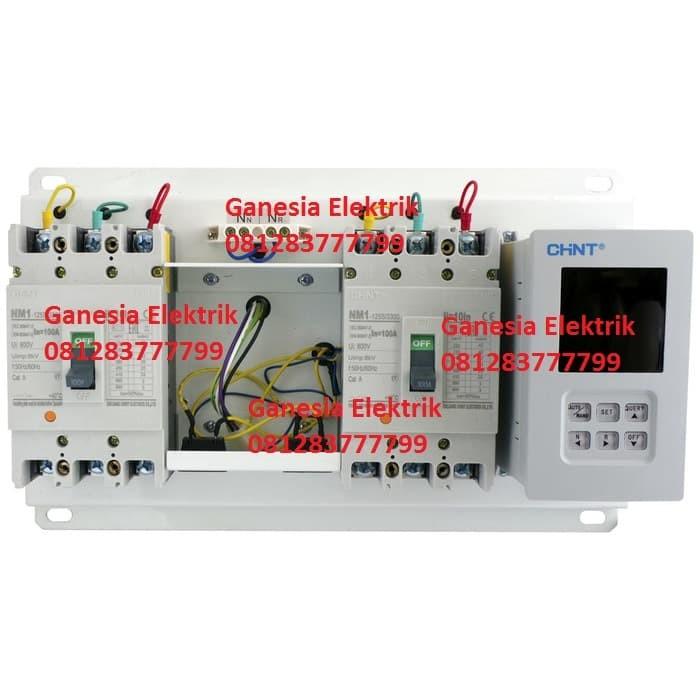 harga Chint nz7-100a panel automatic transfer switch (ats) pln-genset Tokopedia.com