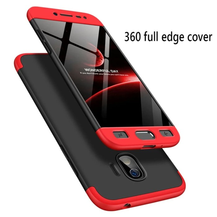 100% authentic cc936 32a2c Jual Case 360 Full Body Cover Hardcase Samsung Galaxy J2 Pro - Bexid |  Tokopedia