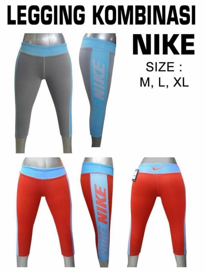 Jual Celana Legging Nike Wanita Gym Zumba Renang Senam Yoga Fitness Se Jakarta Pusat March Storez Tokopedia