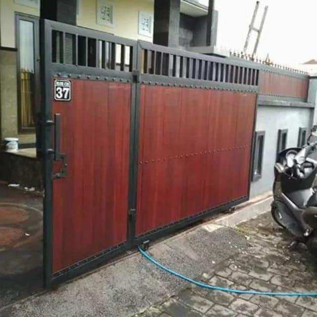 Jual Pagar Grc Minimalis Bandung Kab Bandung Bengkel Las Listrik Bdng Tokopedia