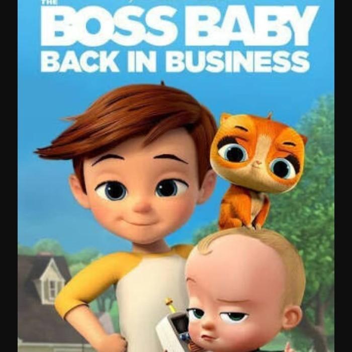 harga Dvd serial tv : the boss baby: back in business - season 1 3 disc Tokopedia.com