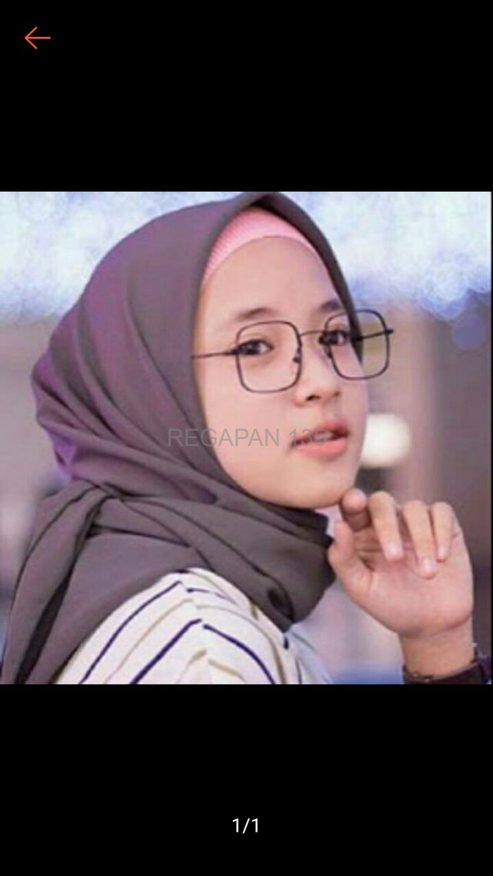 Jual PREMIUM Frame Kacamata Nissa Sabyan Lensa Anti Radiasi Jakarta Barat REGAPAN 135