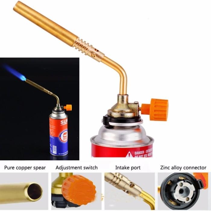 EXCLUSIVE Blow torch burner jet flame gun kepala las gas burner panja