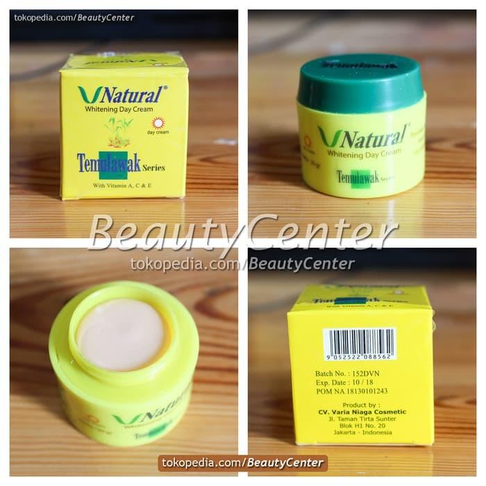 Cream Siang Temulawak V Natural Original / BPOM Resmi