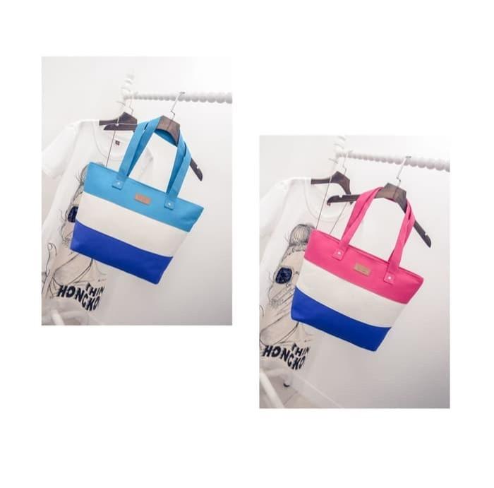 Jual Sport Best Fashion Canvas Tote Bag 3 layer Color - JualiNi Shop ... bffce88a5834b