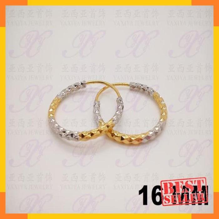 Anting - Yaxiya (cincin gelang kalung liontin) anting gipsy perhiasan