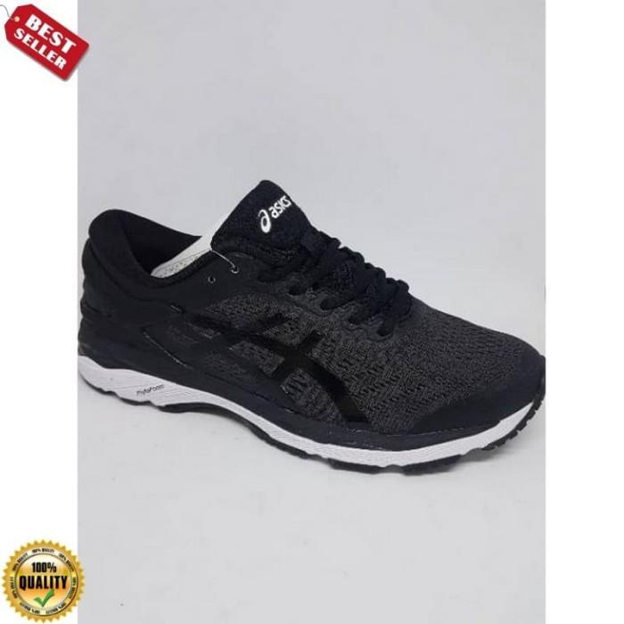 Sepatu Prime  Running.Gym.Volly Asics Gel Kayano 24 Black White Murah 1b25563e12