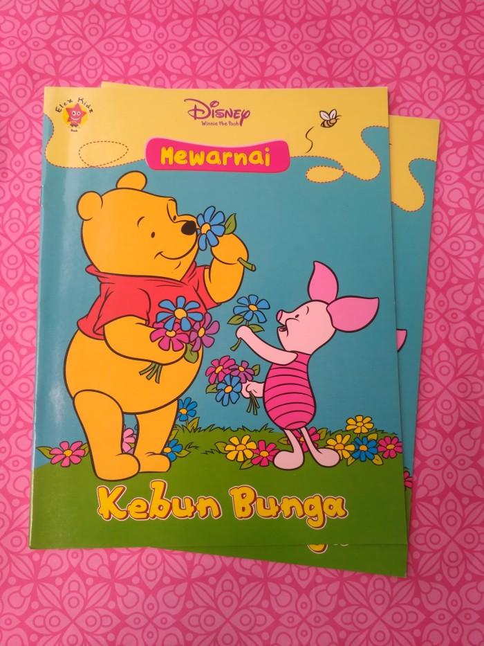 Jual Disney Mewarnai Kebun Bunga Dojo Buku Tokopedia