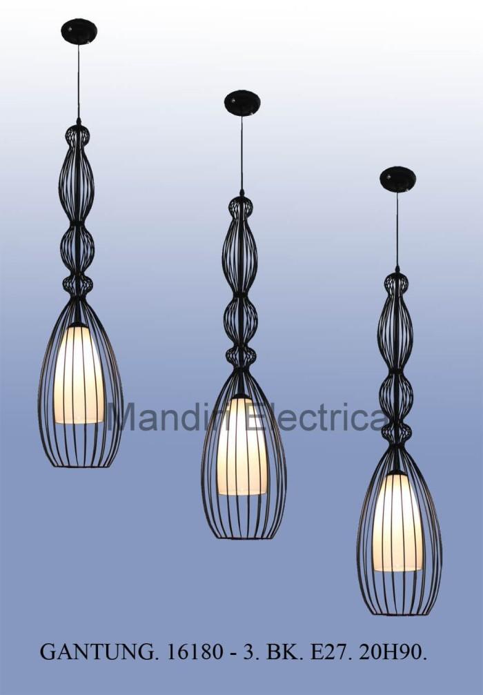 harga Lampu hias gantung dekorasi ruang tamu- meja makan minimalis 16180 / 3 Tokopedia.com