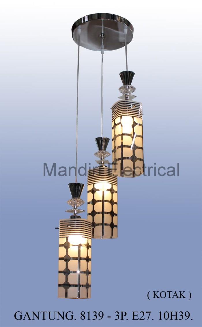 Jual Lampu Hias Gantung Dekorasi Ruang Tamu Meja Makan Minimalis 8139 3 Jakarta Barat Mandiri Electrical