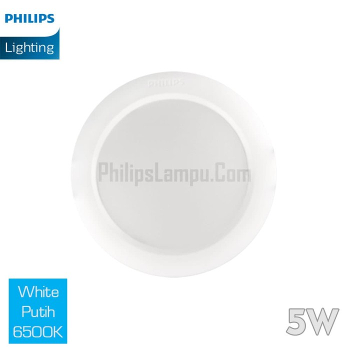 Foto Produk Lampu Downlight LED Philips 5W 59261 Eridani White Putih dari philipslampu