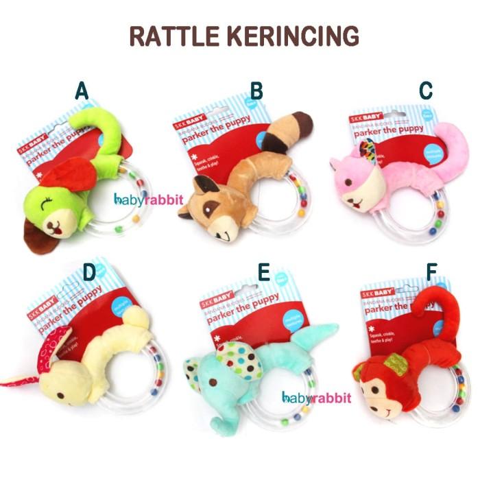 Mainan boneka rattle / mainan bayi / boneka bayi / rattle teether