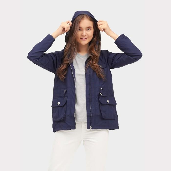 harga Ako jeans jaket parasut navy (11-0332) Tokopedia.com