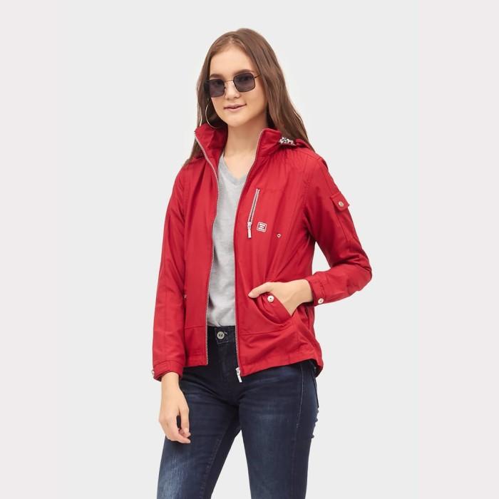 harga Ako jeans jaket merah parasut (11-0386) - merah m Tokopedia.com