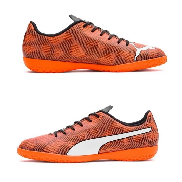 Jual Sepatu Futsal Puma Rapido Orange Black 104799 01 Original ... 29f55ded458