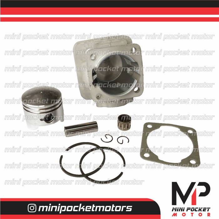 harga Block / buring + piston set 44mm zk motor mini gp trail 49cc 2t Tokopedia.com