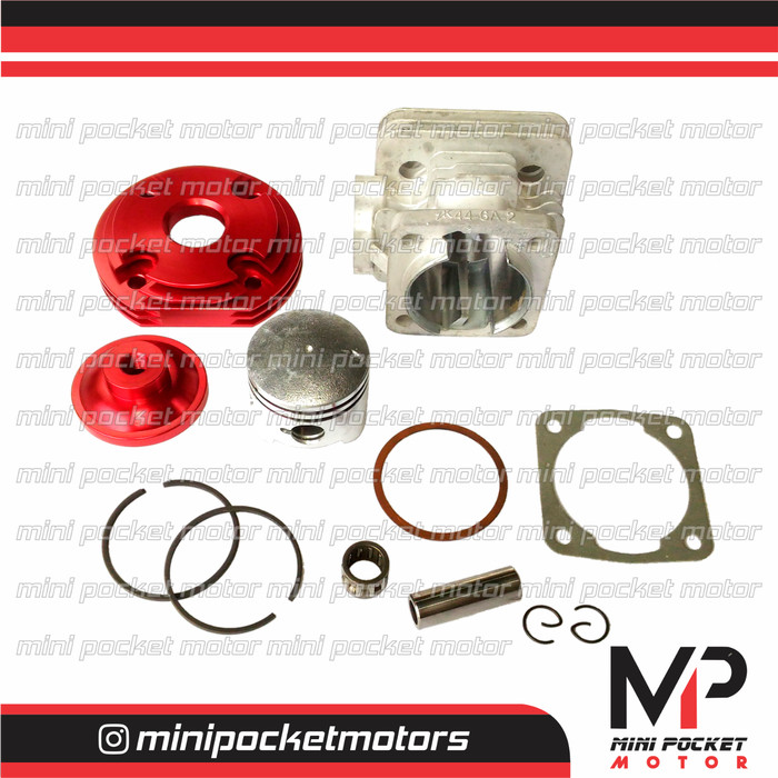 harga Block + piston head pisah zk racing 44mm motor mini gp mini trail 49cc Tokopedia.com