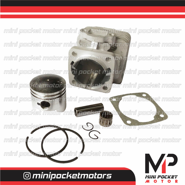 harga Block / buring + piston set 44mm zk 2 motor mini gp / trail 49cc 2t Tokopedia.com